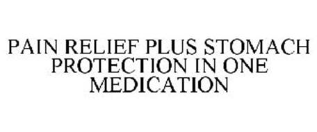 PAIN RELIEF PLUS STOMACH PROTECTION IN ONE MEDICATION