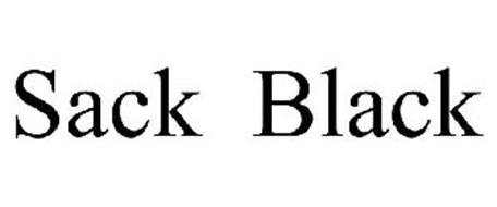 SACK BLACK