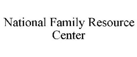 NATIONAL FAMILY RESOURCE CENTER