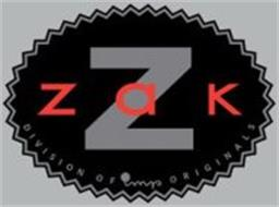 Z ZAK DIVISION OF IMP ORIGINALS