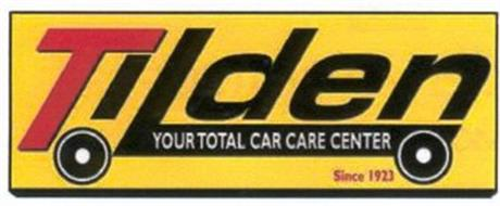 TILDEN YOUR TOTAL CAR CARE CENTER SINCE 1923