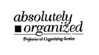 ABSOLUTELY ORGANIZED PROFESSIONAL ORGANIZING SERVICE