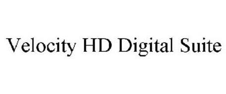 VELOCITY HD DIGITAL SUITE
