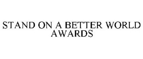 STAND ON A BETTER WORLD AWARDS