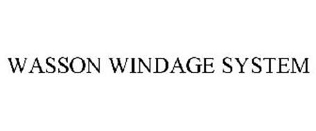 WASSON WINDAGE SYSTEM