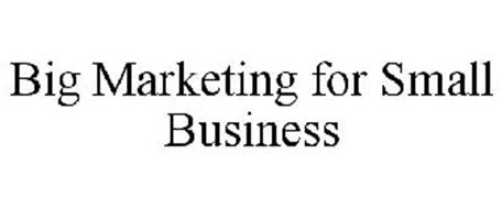 BIG MARKETING FOR SMALL BUSINESS