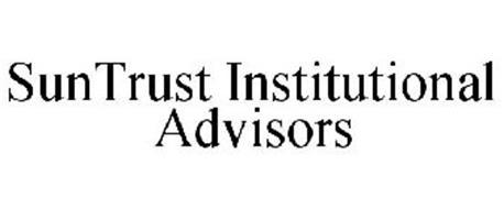 SUNTRUST INSTITUTIONAL ADVISORS