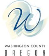 W WASHINGTON COUNTY OREGON