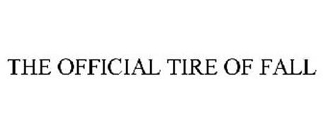 THE OFFICIAL TIRE OF FALL