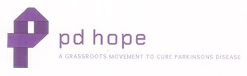 P PD HOPE A GRASSROOTS MOVEMENT TO CURE PARKINSONS DISEASE