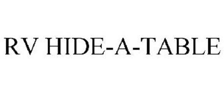 RV HIDE-A-TABLE