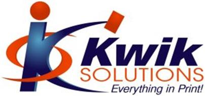 KS KWIK SOLUTIONS EVERYTHING IN PRINT!