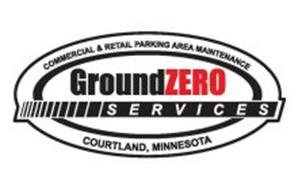 COMMERCIAL AND RETAIL PARKING AREA MAINTENANCE GROUNDZERO SERVICES COURTLAND, MINNESOTA