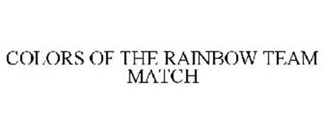 COLORS OF THE RAINBOW TEAM MATCH