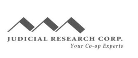 JUDICIAL RESEARCH CORP YOUR CO-OP EXPERTS
