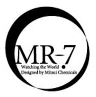 MR-7 WATCHING THE WORLD DESIGNED BY MITSUI CHEMICALS