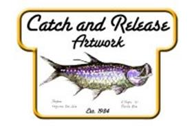 CATCH AND RELEASE ARTWORK EST. 1984 TARPON LAGUNA SAN JOSE J. TINGEY '07 PUERTO RICO