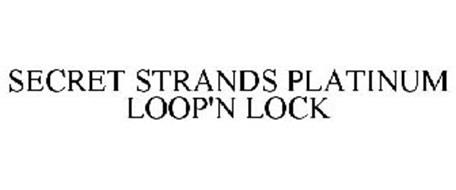 SECRET STRANDS PLATINUM LOOP'N LOCK