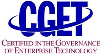 CGET CERTIFIED IN THE GOVERNANCE OF ENTERPRISE TECHNOLOGY