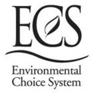 ECS ENVIRONMENTAL CHOICE SYSTEM