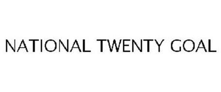 NATIONAL TWENTY GOAL