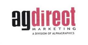 AGDIRECT MARKETING A DIVISION OF ALPHAGRAPHICS