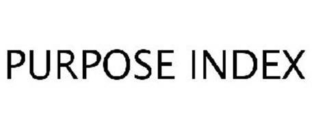 PURPOSE INDEX
