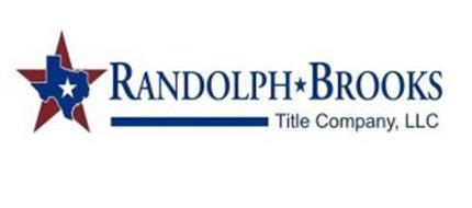 RANDOLPH BROOKS TITLE COMPANY, LLC