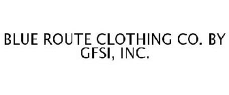 BLUE ROUTE CLOTHING CO. BY GFSI, INC.