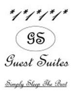 1 1 1 1 GS GUEST SUITES SIMPLY SLEEP THE BEST