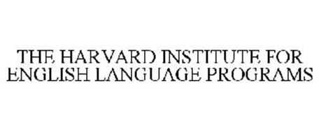 THE HARVARD INSTITUTE FOR ENGLISH LANGUAGE PROGRAMS