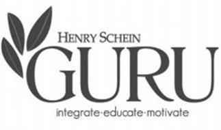 HENRY SCHEIN GURU INTEGRATE·EDUCATE·MOTIVATE