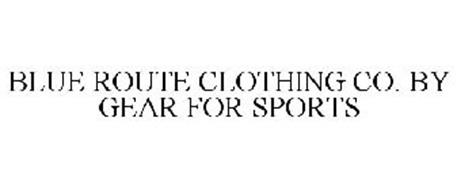 BLUE ROUTE CLOTHING CO. BY GEAR FOR SPORTS