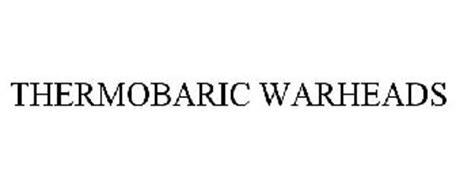 THERMOBARIC WARHEADS