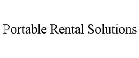 PORTABLE RENTAL SOLUTIONS