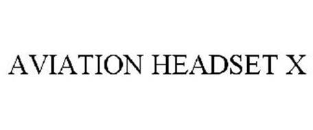 AVIATION HEADSET X