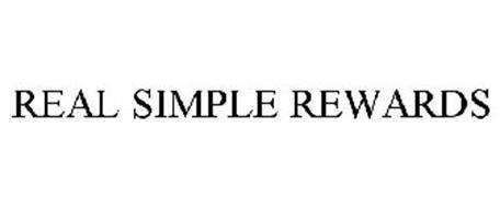 REAL SIMPLE REWARDS