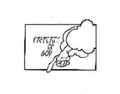 PROPERTY OF GOD