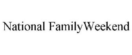 NATIONAL FAMILYWEEKEND