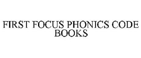 FIRST FOCUS PHONICS CODE BOOKS