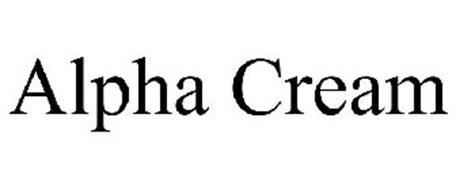 ALPHA CREAM
