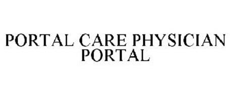 PORTAL CARE PHYSICIAN PORTAL