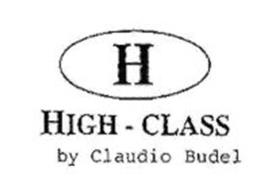 H HIGH - CLASS BY CLAUDIO BUDEL