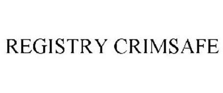 REGISTRY CRIMSAFE