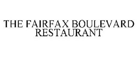 THE FAIRFAX BOULEVARD RESTAURANT