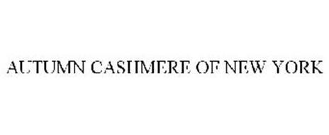 AUTUMN CASHMERE OF NEW YORK