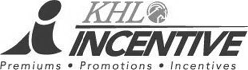 I KHL INCENTIVE PREMIUMS · PROMOTIONS · INCENTIVES