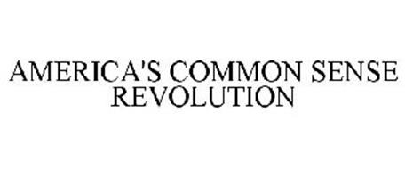 AMERICA'S COMMON SENSE REVOLUTION