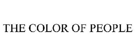 THE COLOR OF PEOPLE