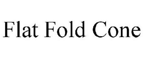 FLAT FOLD CONE